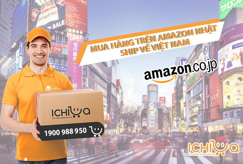 Mua hàng trên Amazon Nhật
